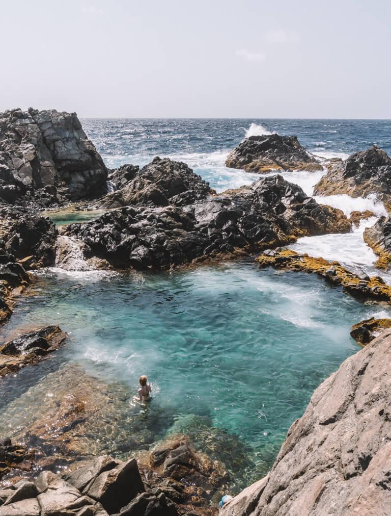 Natural Pool Aruba