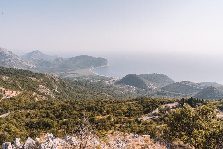 Panorama Montenegro Kueste