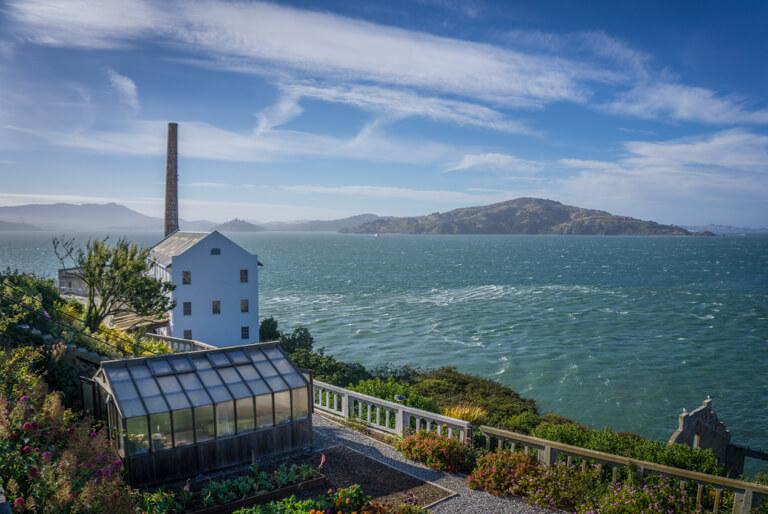 San Francisco Sehenswuerdigkeiten Alcatraz Gefaengnis