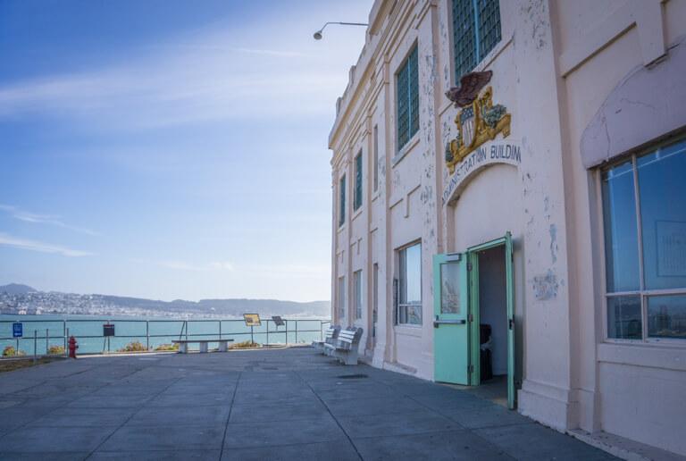 San Francisco Sehenswuerdigkeiten Alcatraz Verwaltungsgebaeude