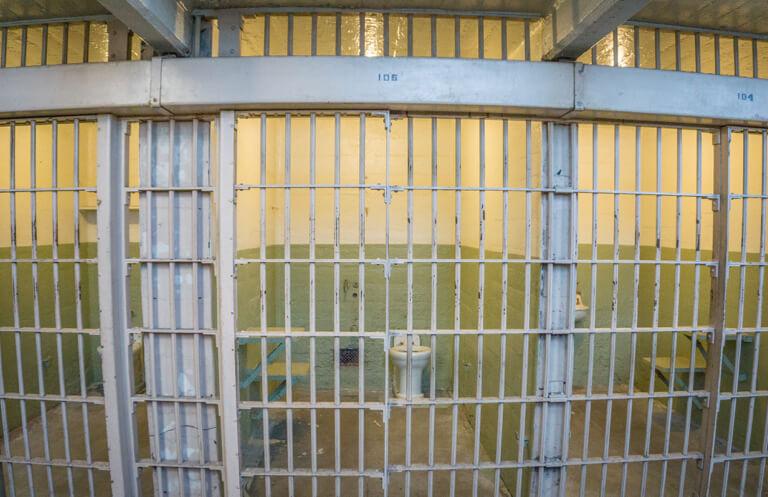 San Francisco Sehenswuerdigkeiten Alcatraz Zelle