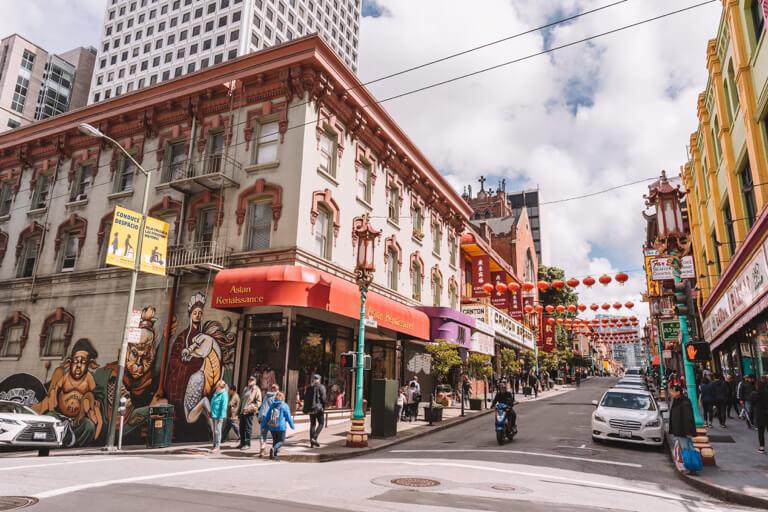 San Francisco Sehenswuerdigkeiten Chinatown Street Art
