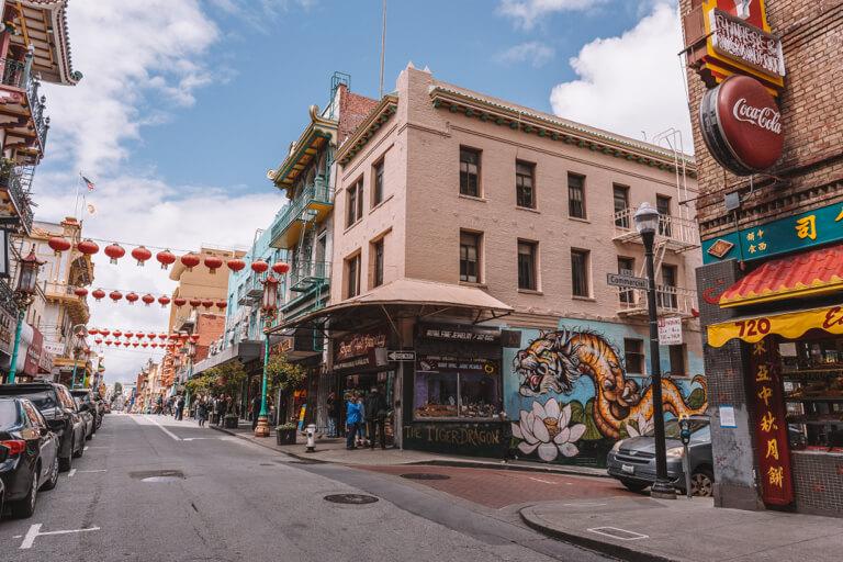San Francisco Sehenswuerdigkeiten Chinatown Streetart