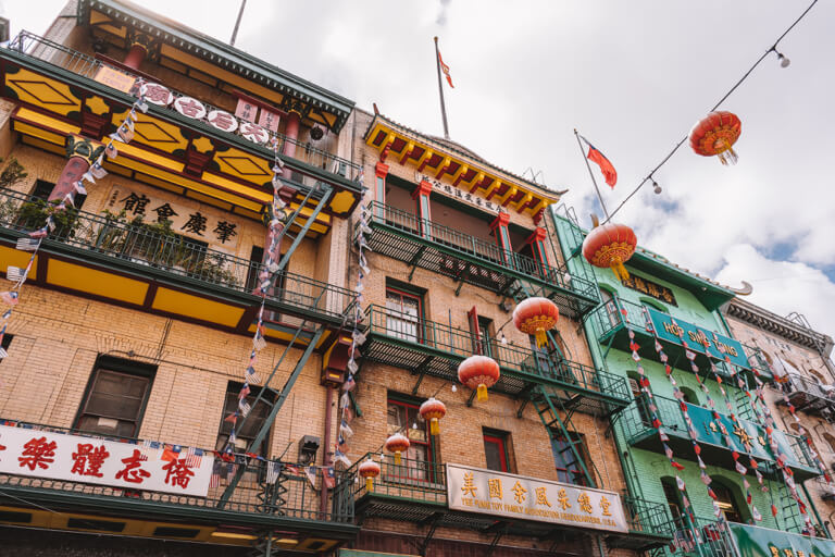 San Francisco Sehenswuerdigkeiten Chinatown