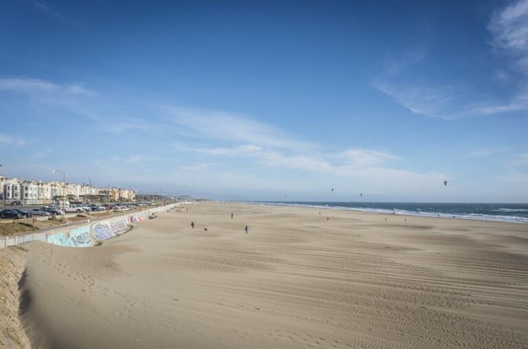 San Francisco Sehenswuerdigkeiten Ocean Beach