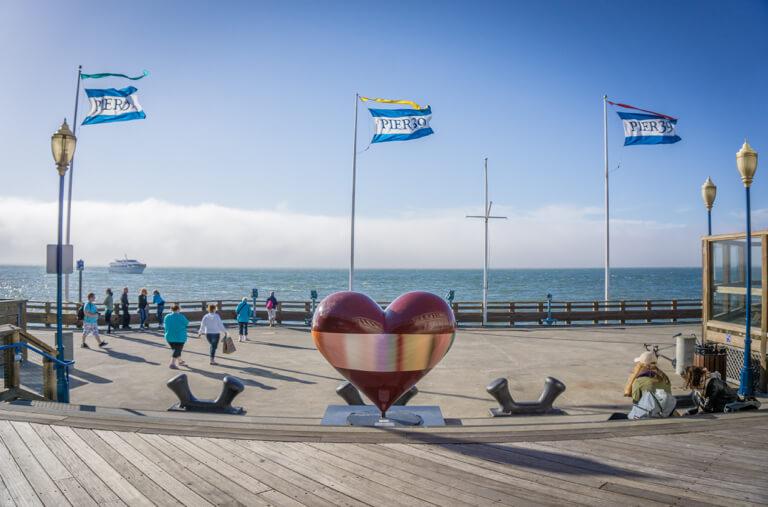 San Francisco Sehenswuerdigkeiten Pier 39