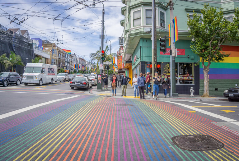 Stadtviertel Castro San Francisco