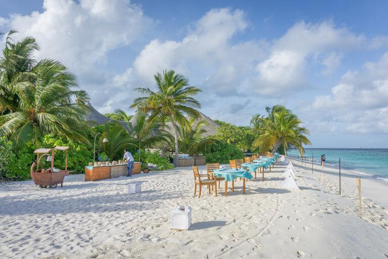 Coco Palm Dhuni Kolhu Malediven Inseln Restaurant