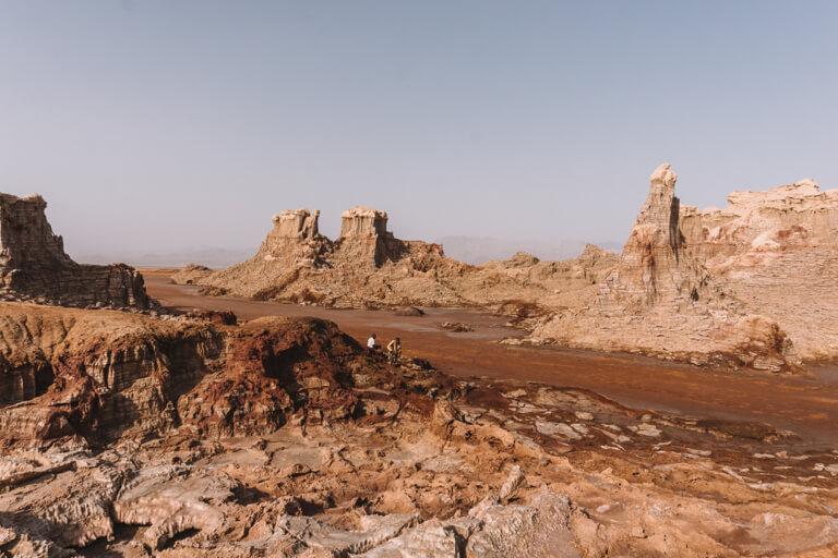 Dallol Vulkan Salz Canyon