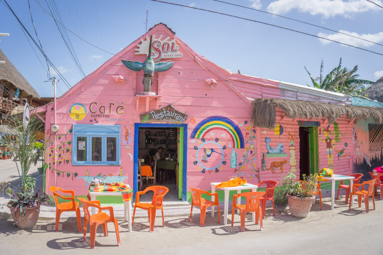 Downtown Holbox Cafe