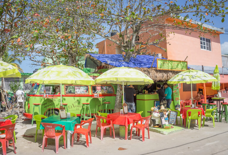 Downtown Holbox Mexiko Saftbar
