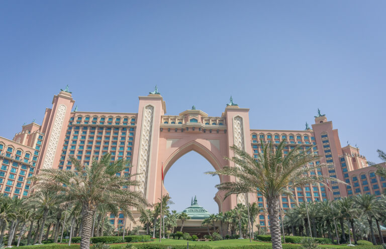 Dubai Sehenswuerdigkeiten Atlantis Hotel