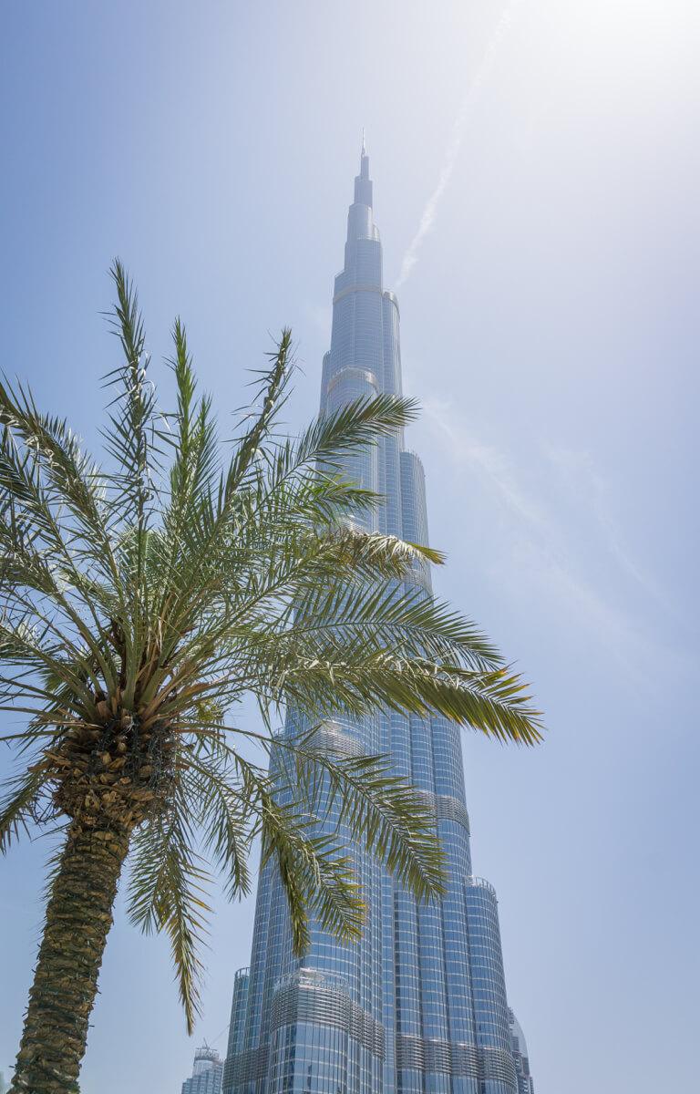 Dubai Sehenswuerdigkeiten Burj Khalifa