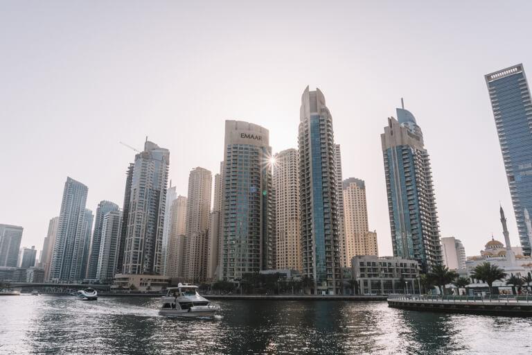 Dubai Sehenswuerdigkeiten Dubai Marina