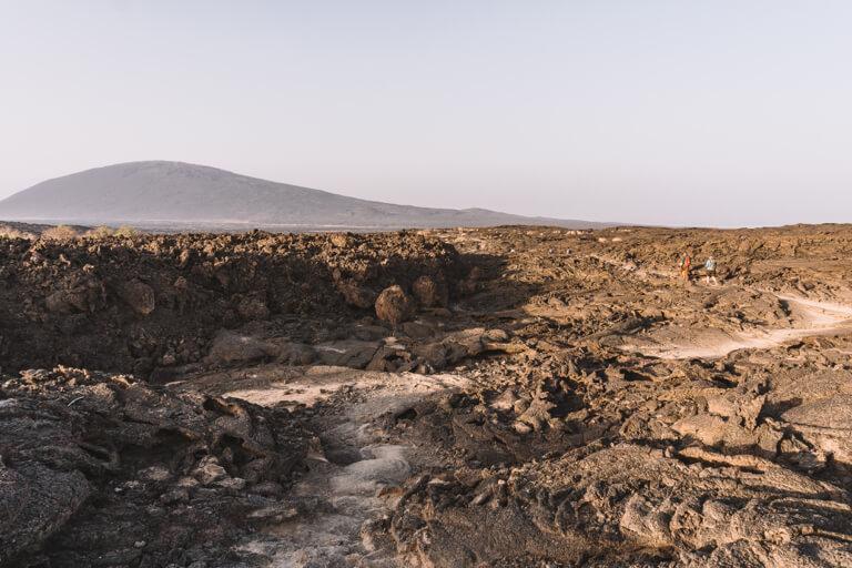 Erta Ale Vulkan Aethiopien Danakil Senke