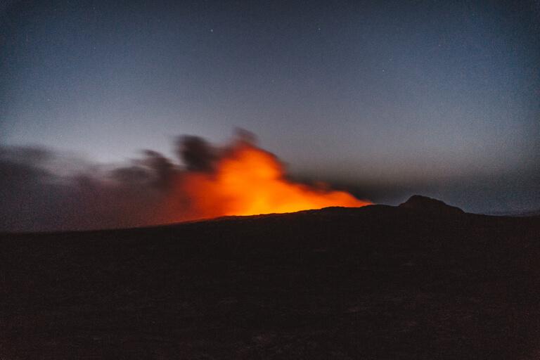 Erta Ale Vulkan