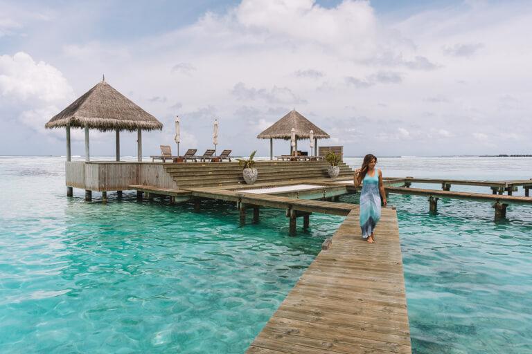 Gili Lankanfushi Resort Over Water Villa Schoenste Insel Malediven