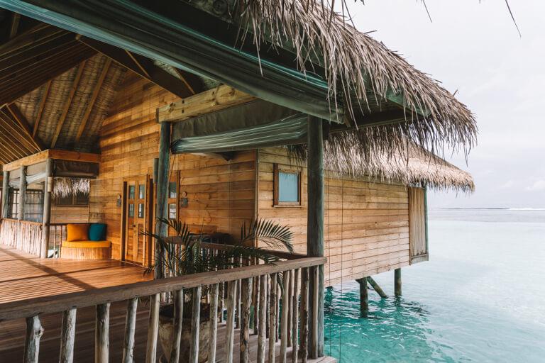 Gili Lankanfushi Resort Over Water Villa Schoenste Inseln Malediven