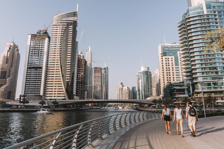 Highlights Dubai Marina Walk