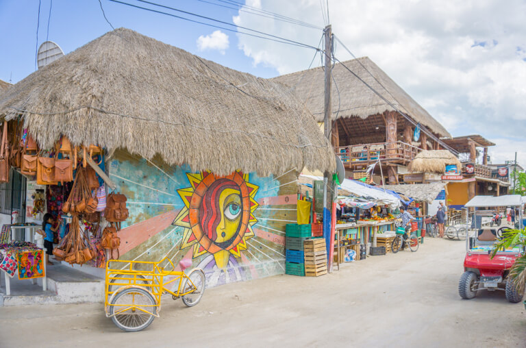Isla Holbox Downtown Mexiko