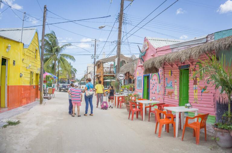 Isla Holbox Mexiko Sandwege