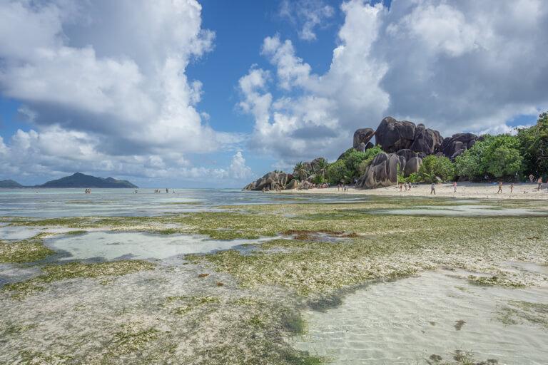 La Digue Seychellen Anse Source d Argent Traumstrand
