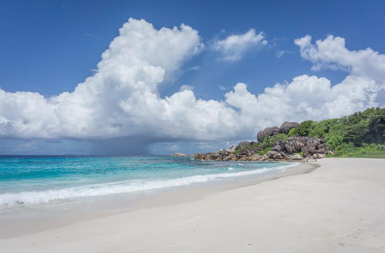 La Digue Seychellen Grand Anse Traumstrand