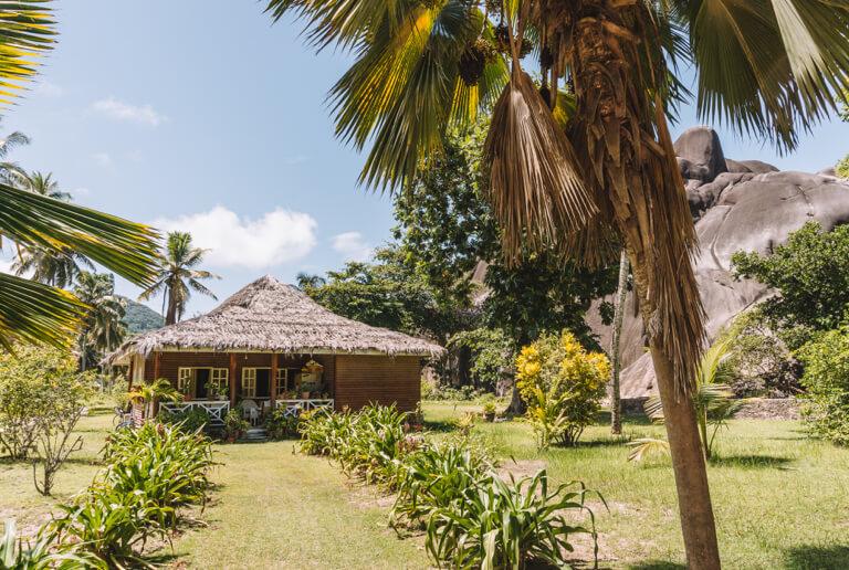 La Digue Seychellen L Union Estate Kolonialhaus