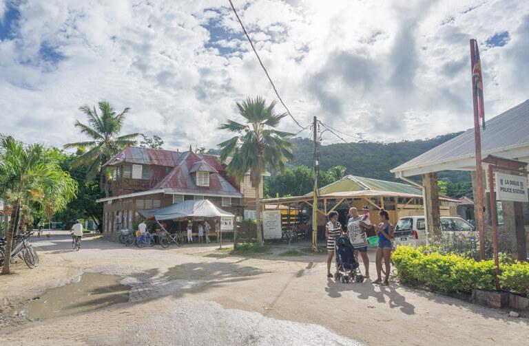 La Digue Seychellen La Passe