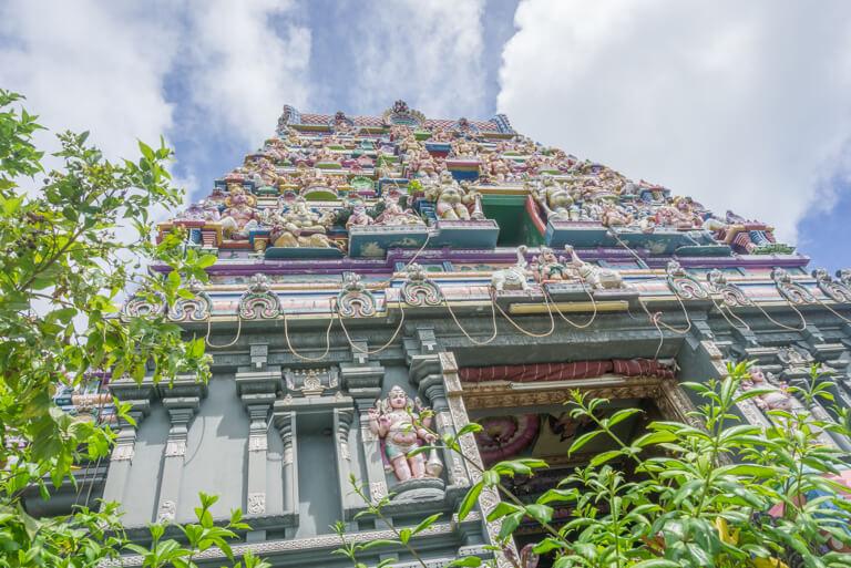 Mahe Seychellen Tempel