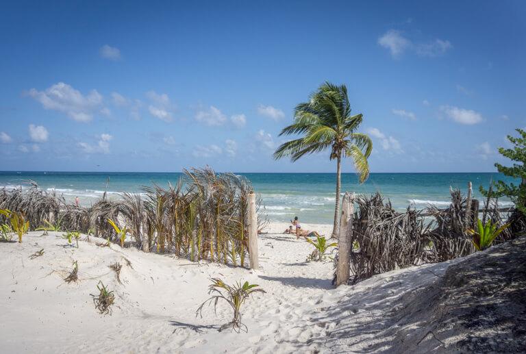 Mexiko Strand Punta Allen Sian Kaan Nationalpark