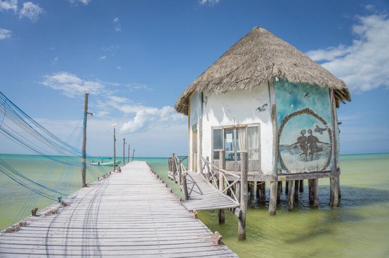 Mexiko Urlaub Rundreise Isla Holbox Fischerhuette