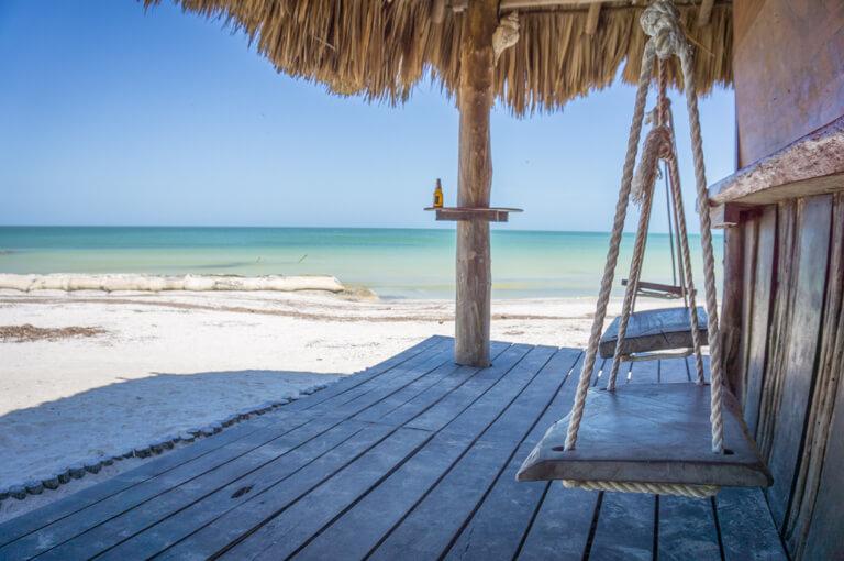 Mexiko Urlaub Strandbar