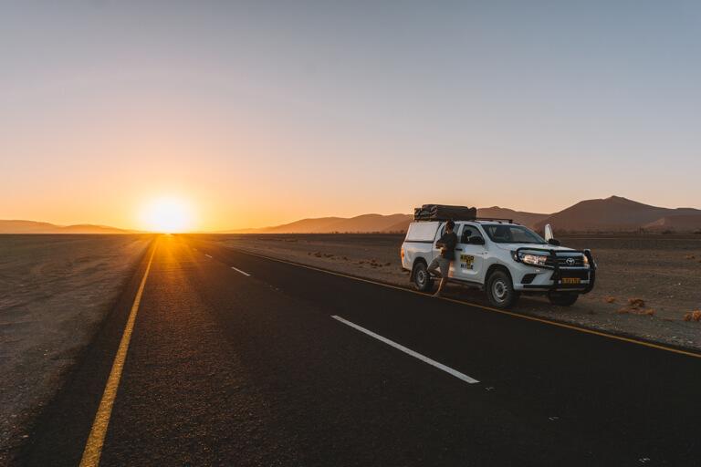 Namib Naukluft Nationalpark Panoramastrasse Sossusvlei