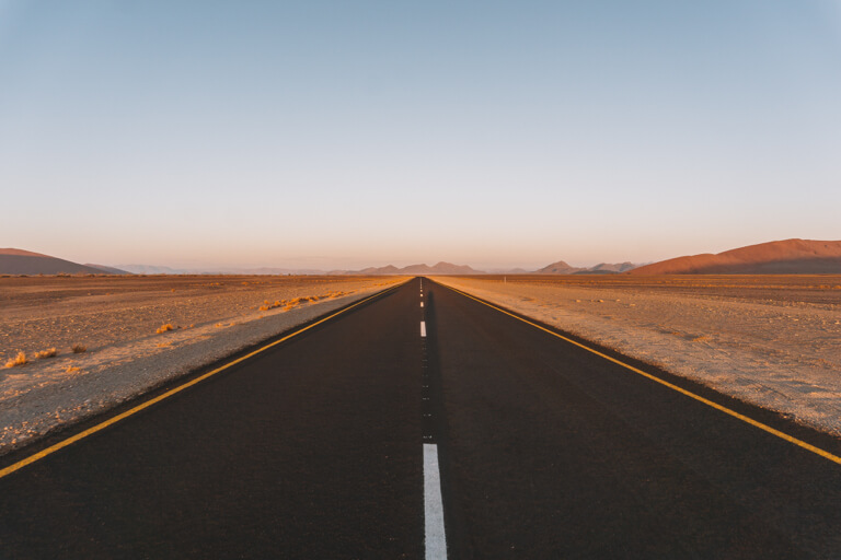 Namib Naukluft Nationalpark Panoramastrasse Wueste