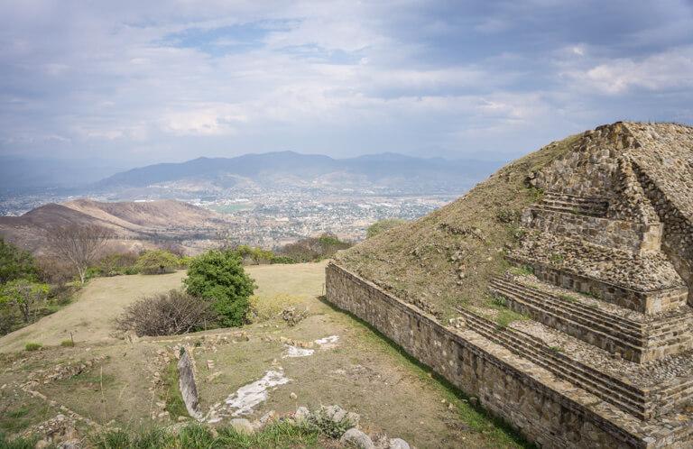 Oaxaca Mexiko Monte Alban Zapteken
