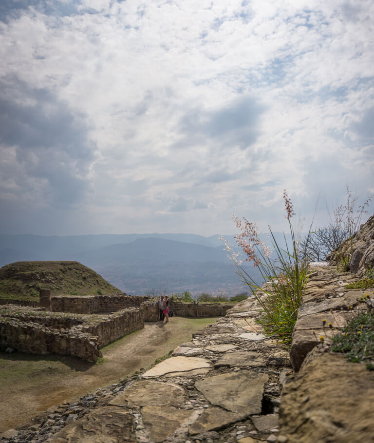 Oaxaca Mexiko Monte Alban historische Staette
