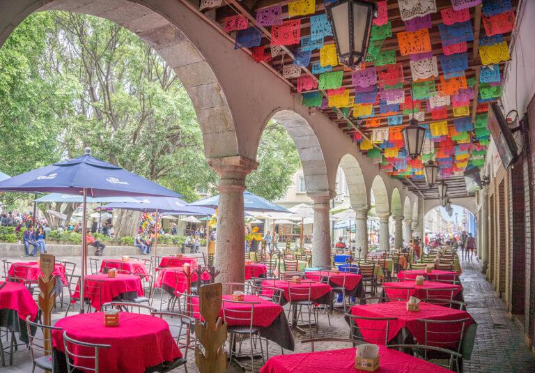 Oaxaca Mexiko Zocalo