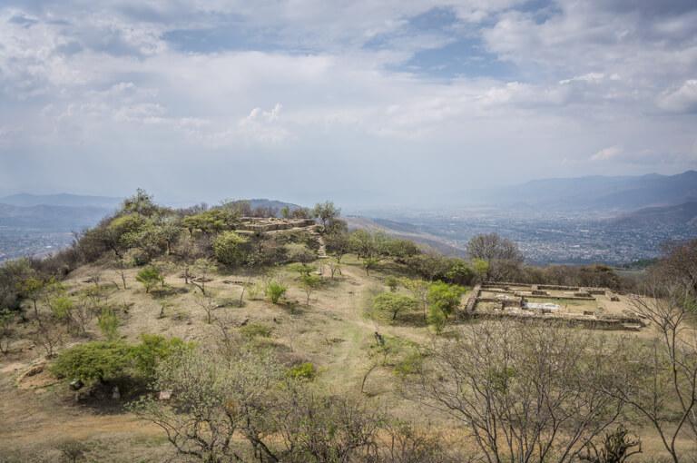 Oaxaca Sehenswuerdigkeiten Monte Alban