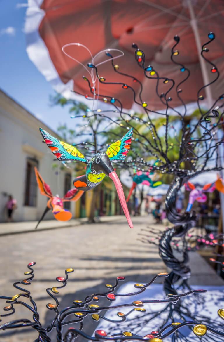 Oaxaca de Juarez Jardin del Panuelito Markt