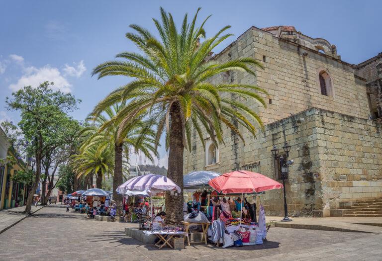 Oaxaca de Juarez Jardin del Panuelito