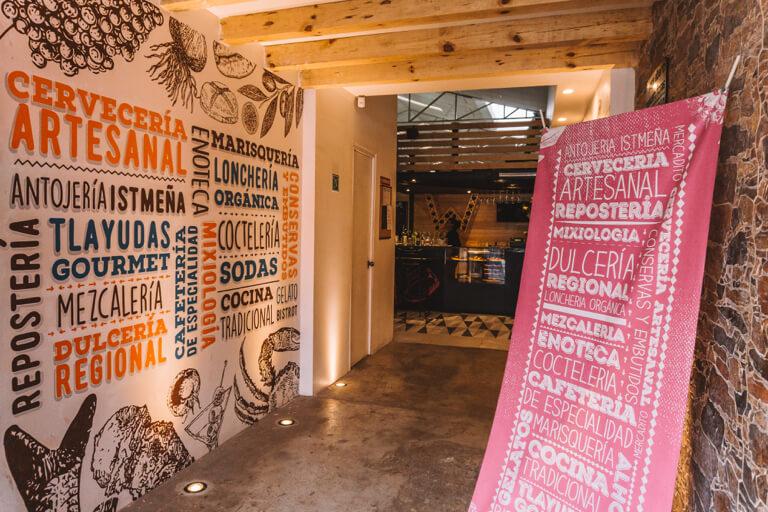 Oaxaca de Juarez Mexiko Alhondiga Reforma Gourmet Market