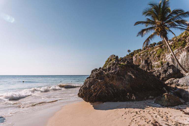 Playa Ruinas Maya Staette Tulum
