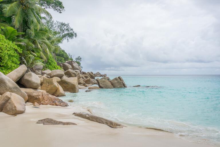 Praslin Seychellen Traumstrand