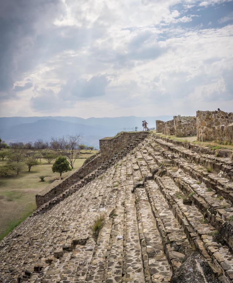Ruinen Oaxaca Mexiko Monte Alban