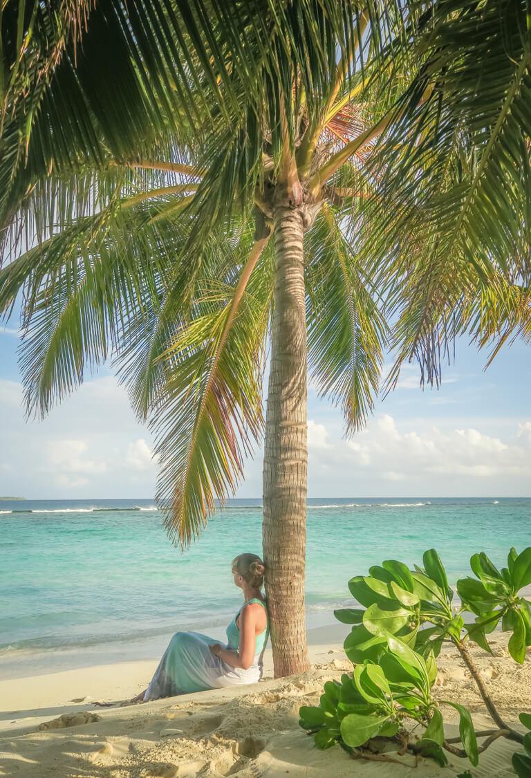 Schoenste Insel Malediven Traumstrand