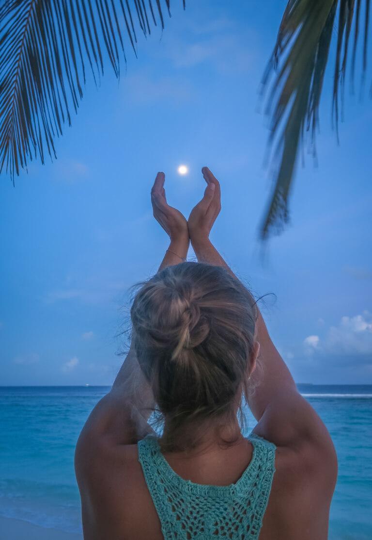 Schoenste Insel Malediven
