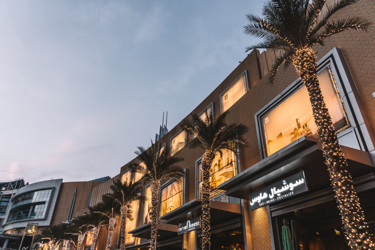 Sehenswuerdigkeiten Dubai Mall