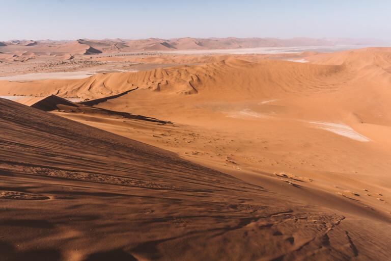 Sossusvlei Namibia Big Daddy Duene Aussicht