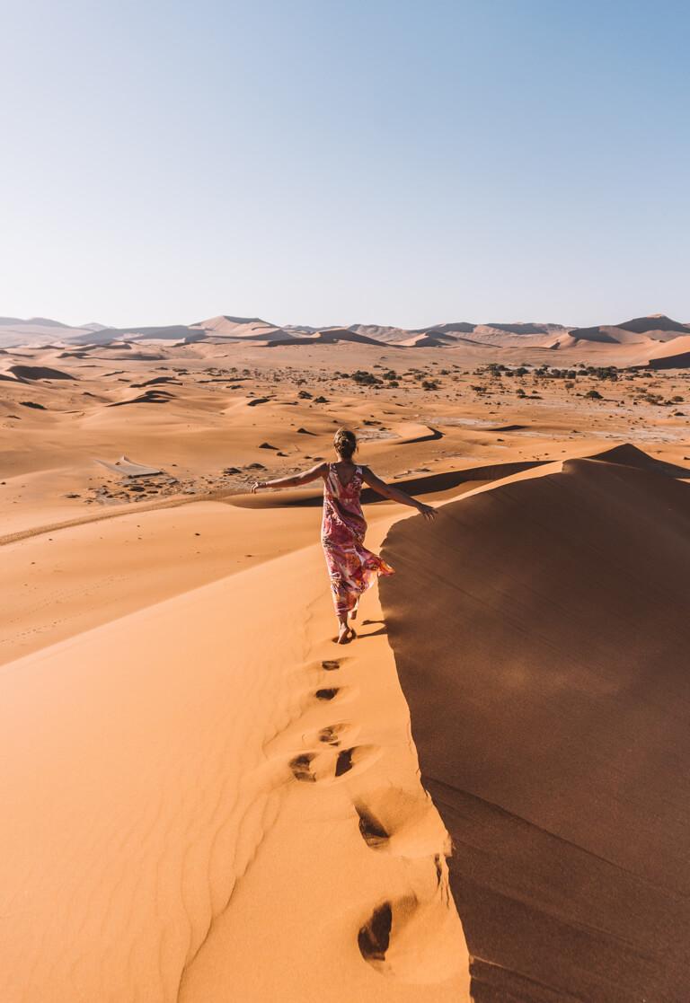 Sossusvlei Namibia Big Daddy Dune